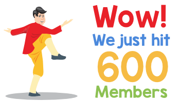 We have 600 members!  WOW!