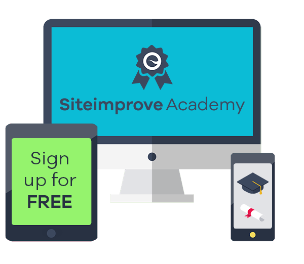SiteImprove Academy offers courses for accessibility education