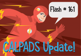 CALPADS Update Flash #161