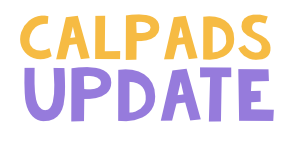 CALPADS Update FLASH #153