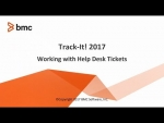 Track-It! 2018 - Working with HelpDesk Tickets