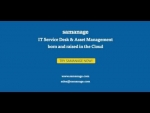 Samanage IT Service Desk & Asset Management in 3 Minutes