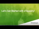 Let's get started with eTapestry