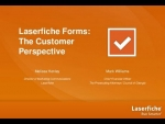 Laserfiche Forms: The Customer Perspective