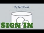 MyTechDesk - Sign in