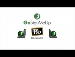 Blackboard Learning Management System Integrates with GoSignMeUp