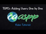 How to Add Users One-By-One in the CAASPP Test Operations Management System (TOMS)