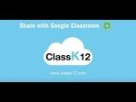 ClassK12 Math & ELA - Share assignments to Google Classroom