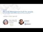 Records Management built for people