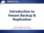 01 Introduction to Veeam Back up and Replication
