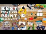 PaperCut Best Practices of Print Management Webinar