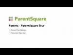 ParentSquare Tour for Parents