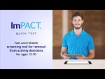 ImPACT Quick Test - A screening tool for removal from activity decisions