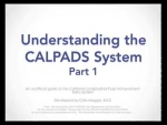 CALPADS Fall 1 Overview